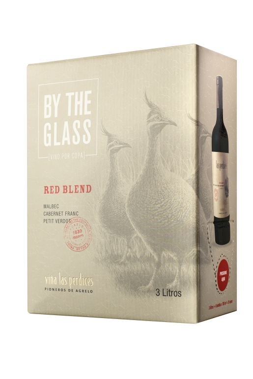 Box Red Blend Fondo Blanco